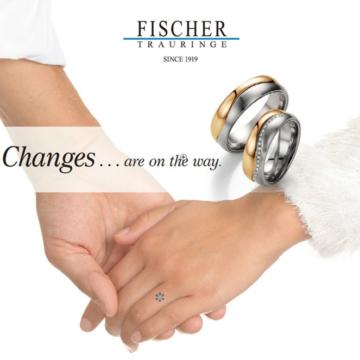 ドイツメイドの世界最高峰の結婚指輪で「FISCHER」