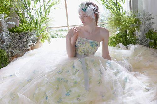 gardenフェスタin奈良のイベントでドレス試着
