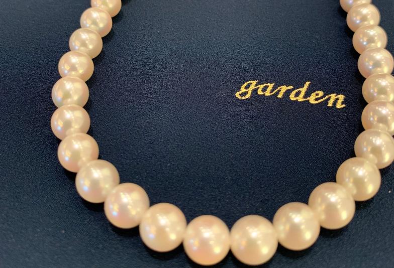 真珠のネックレスはgarden梅田2