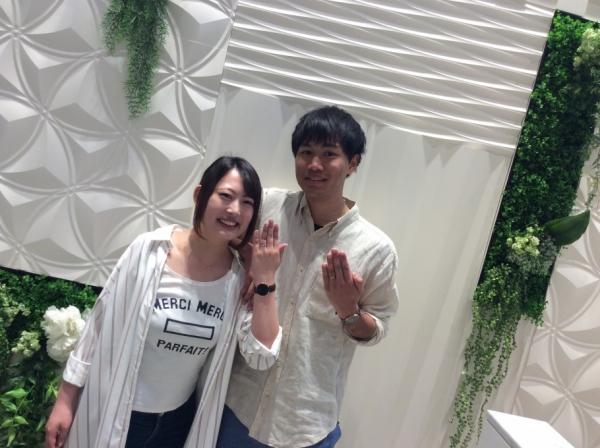 兵庫県姫路市 Disneyシンデレラの結婚指輪
