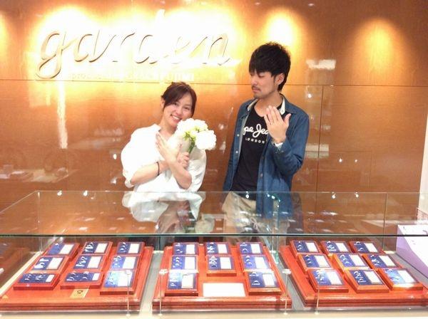 兵庫県たつの市 OnlyYou,RosettEの結婚指輪