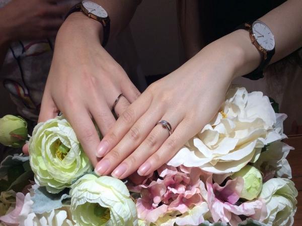 兵庫県姫路市 マリアージュエントの結婚指輪