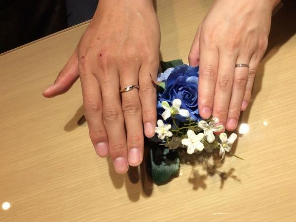 兵庫県明石市 LAPAGE、Mariage entの結婚指輪