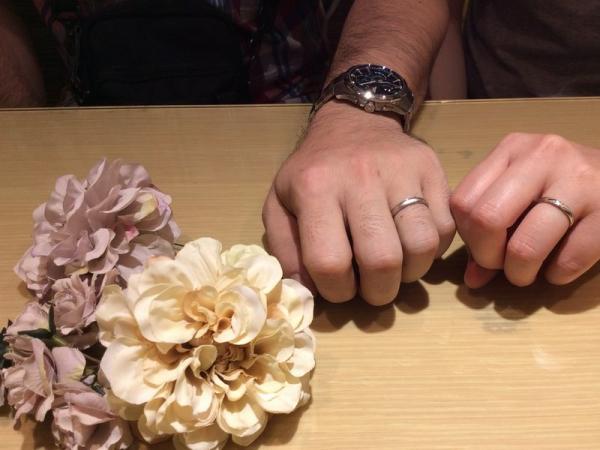 兵庫県高砂市・加古川市 パイロットブライダルの結婚指輪