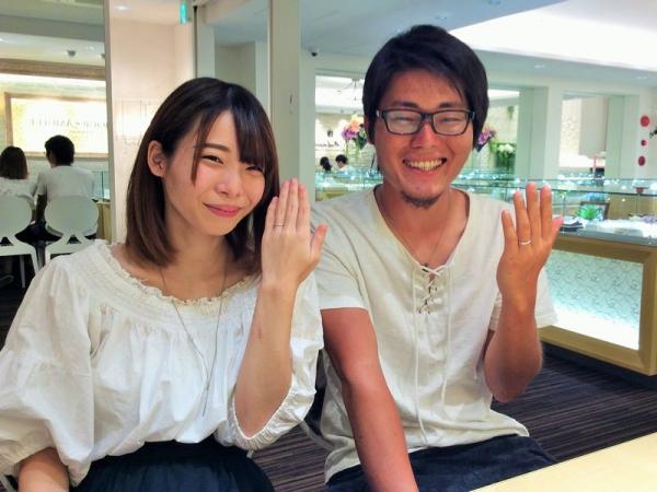兵庫県姫路市 LOVERS・Ankhoreの結婚指輪