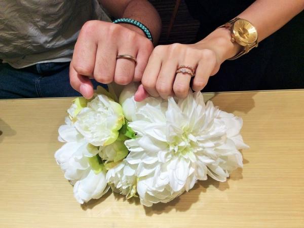 兵庫県姫路市 AMOUR AMULETの婚約指輪、OCTAVE・AMOUR AMULETの結婚指輪