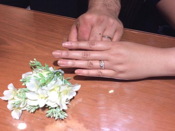 兵庫県加古川市 ひなの婚約指輪