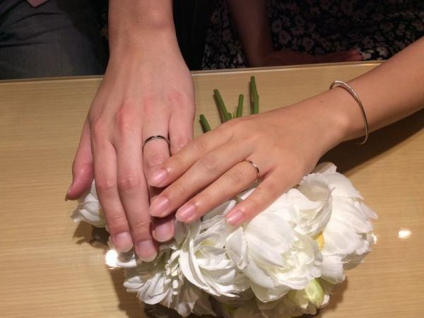 兵庫県姫路市・加古川市 マリアージュエントの結婚指輪