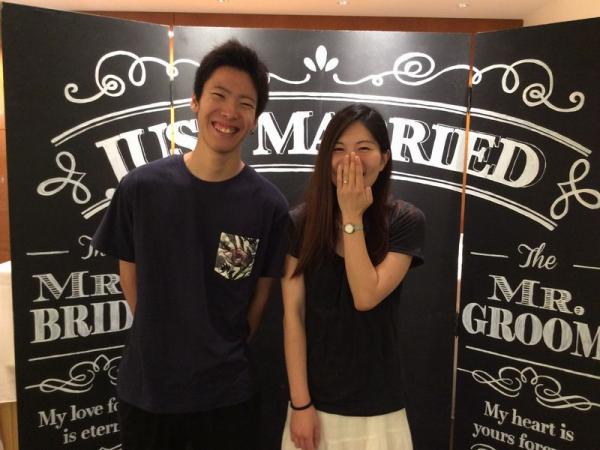 兵庫県姫路市 Mariage entの婚約指輪