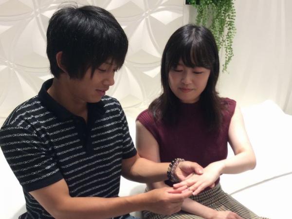 兵庫県姫路市 フィッシャーの結婚指輪