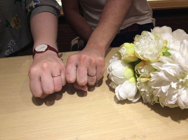 兵庫県加古川市・相生市 Milk&Strawberryの結婚指輪