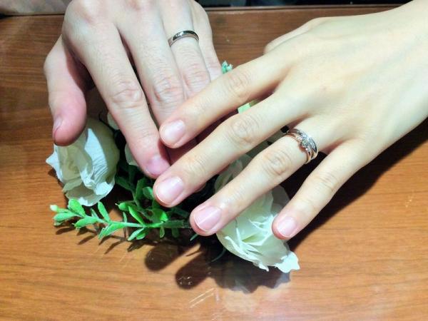 兵庫県姫路市 CHER LUVの婚約指輪