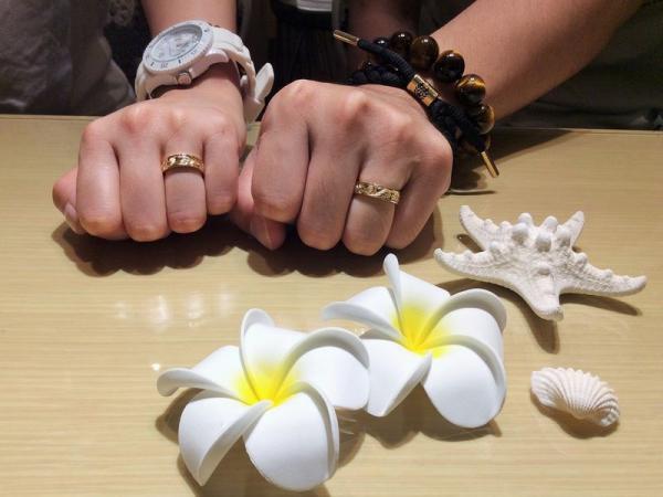 兵庫県姫路市 Makanaの結婚指輪