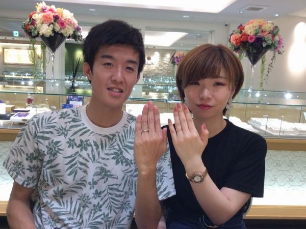 兵庫県姫路市 Privatebeachの結婚指輪