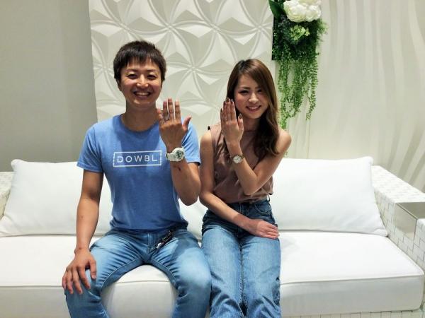 兵庫県明石市 PAVEO CHOCOLAT・TwinsCupidの結婚指輪
