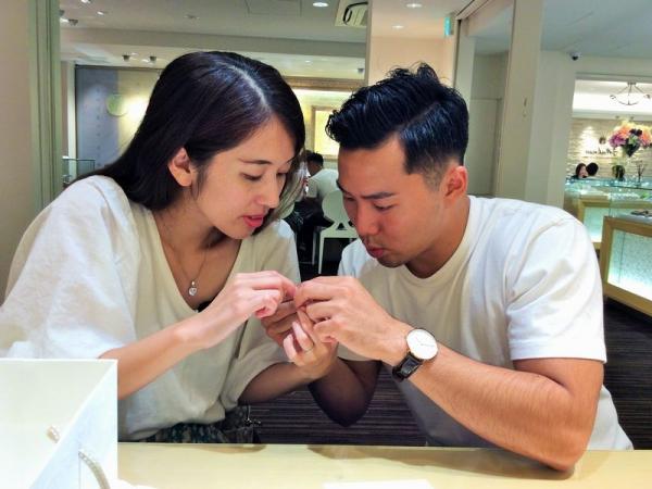 兵庫県姫路市 マカナ・クワントマリアージュの結婚指輪