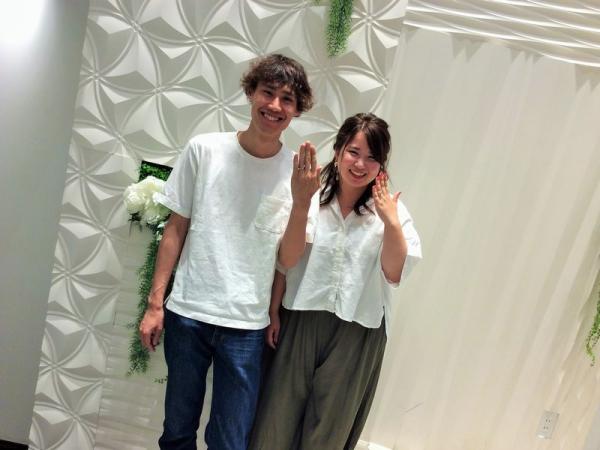 兵庫県姫路市 Mariage ent・AMOUR AMULETの結婚指輪