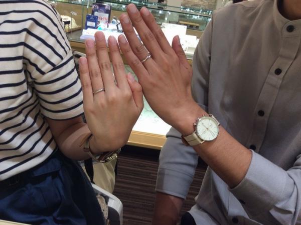 兵庫県姫路市&加古川市 Mariage entの結婚指輪