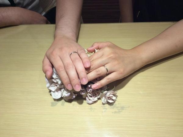 兵庫県姫路市 Milk&Strawberryの結婚指輪