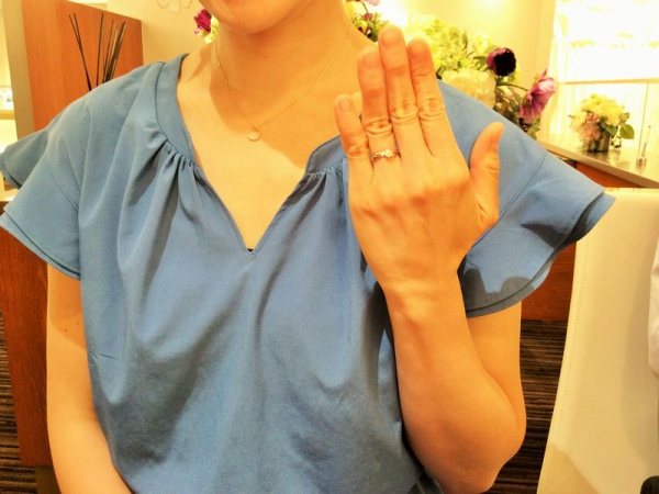 兵庫県加古川市 LAPAGEの婚約指輪