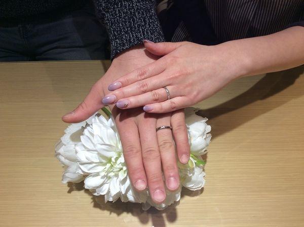 兵庫県姫路市 Mariage entの結婚指輪