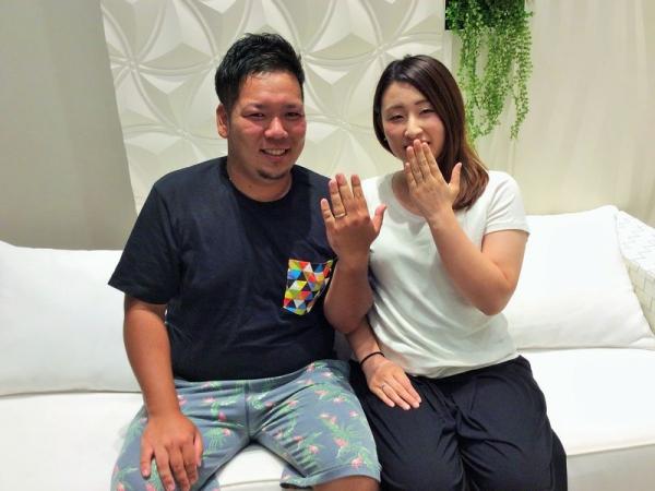 兵庫県神崎郡郡福崎町 アムールアミュレットの結婚指輪