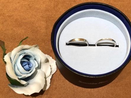 西宮市 「RosettE」の結婚指輪をご成約いただきました