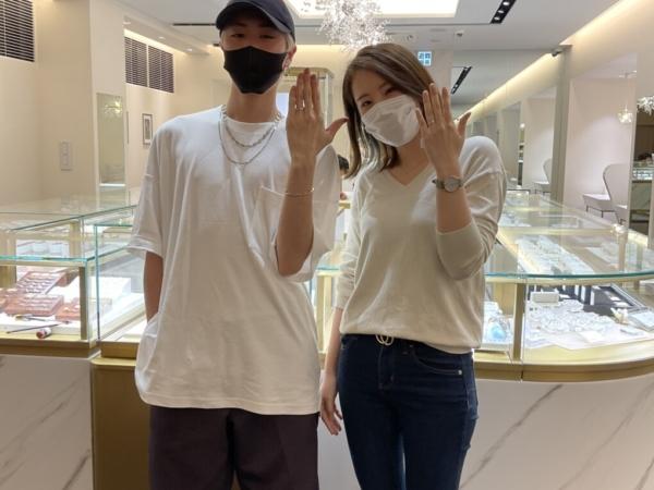 滋賀県|プロミスリングの結婚指輪をご成約いただきました
