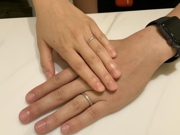 兵庫県神戸市垂水区 パイロット・ブライダルの結婚指輪