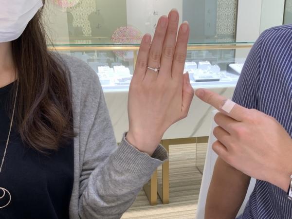 神戸市長田区 gardenオリジナルの婚約指輪