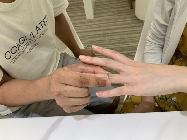 大阪府大阪市 et.lu(エトル)の結婚指輪