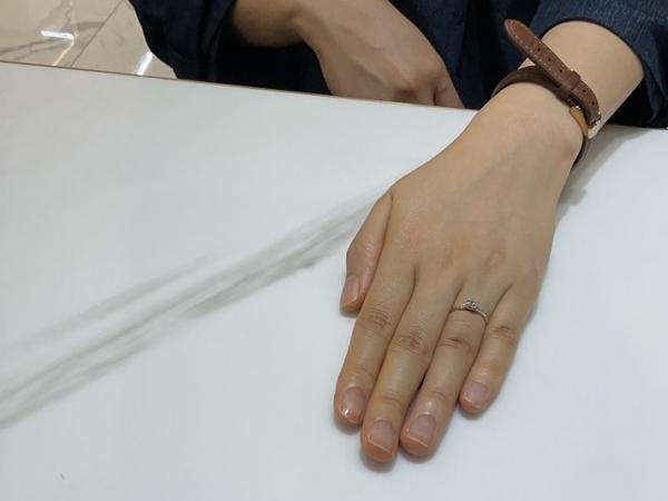 奈良県奈良市・京都市西京区|リトルガーデンの婚約指輪をご成約いただきました