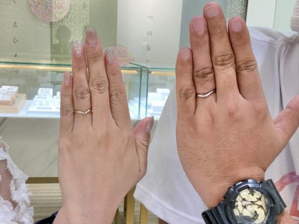 奈良県 香芝市 LAPAGEの結婚指輪