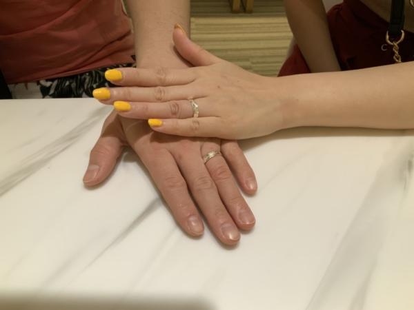 神戸市垂水区 Maxiの結婚指輪