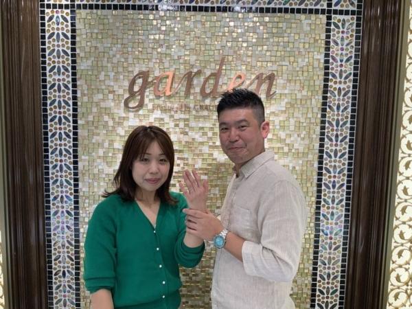 兵庫県神戸市東灘区 マリアージュエントの結婚指輪