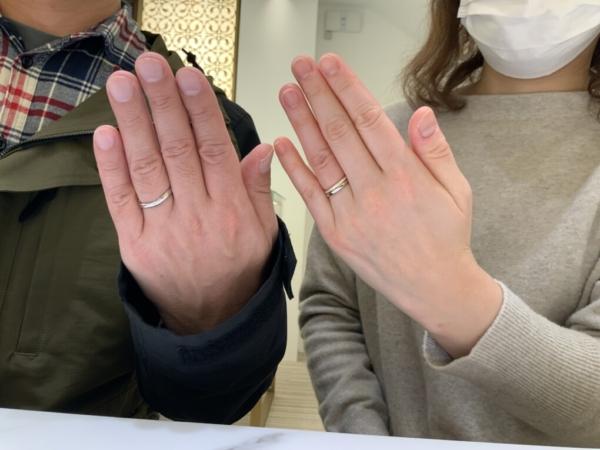 兵庫県神戸市東灘区 パイロットブライダル・フィッシャーの結婚指輪