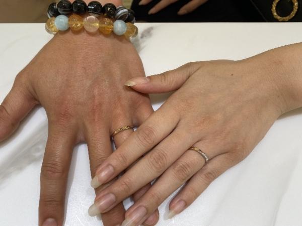 明石市 リーズナブルで高品質ノクルの結婚指輪