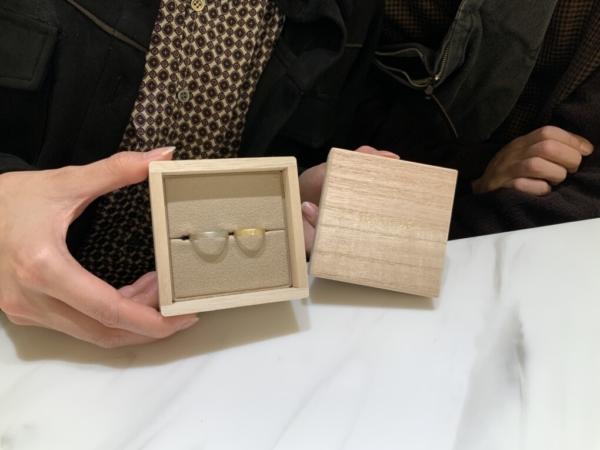 兵庫県姫路市 YUKAHOJOの結婚指輪