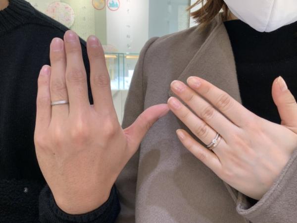 兵庫県加古川市 YUKAHOJOの結婚指輪、婚約指輪