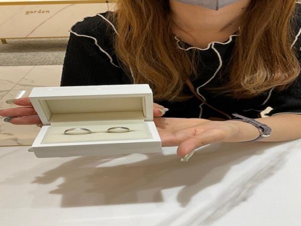 京都府・宇治市|手作り結婚指輪をご成約いただきました
