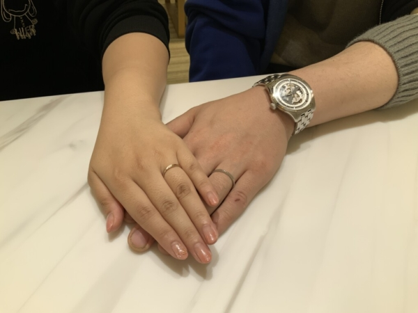 神戸市西区・奈良県 ラプンツェルの結婚指輪
