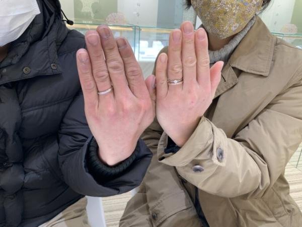 神戸市兵庫区 ラプンツェルの結婚指輪