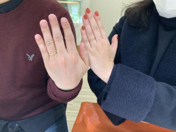兵庫県姫路市 FISCHERの結婚指輪をご成約頂きました