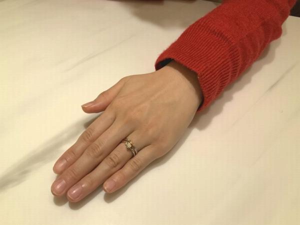 尼崎市 アムールアミュレットの結婚指輪をご成約頂きました