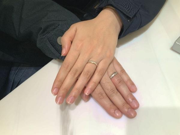 高砂市 FISCHERの結婚指輪をご成約頂きました