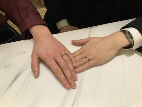 西宮市 YUKA HOJOの結婚指輪をご成約頂きました