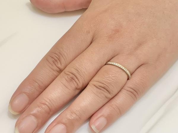 兵庫県須磨区 RosettE(ロゼット)の結婚指輪をご成約頂きました。
