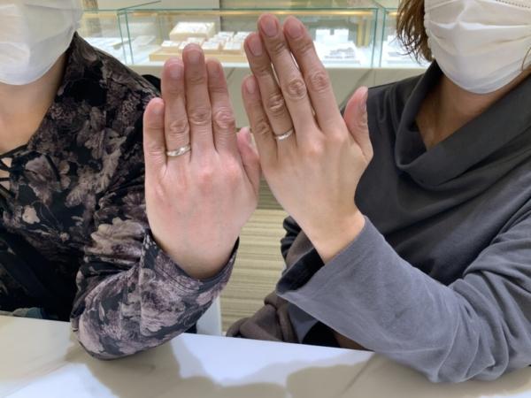 兵庫県・神戸市 Ofertaの結婚指輪をご成約頂きました