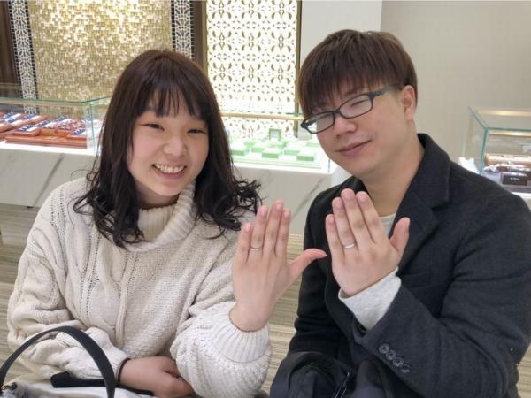 加古川市 FISCHERとkatamuの結婚指輪をご成約頂きました