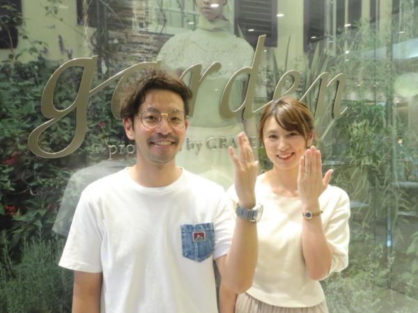 オシャレ指輪 Rosette(ロゼット)の婚約指輪と結婚指輪 大阪市中央区